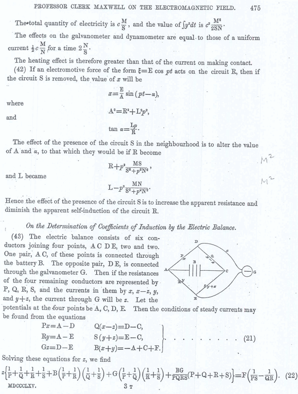 Clerk Maxwell on the Electromagnetic Field Page 17