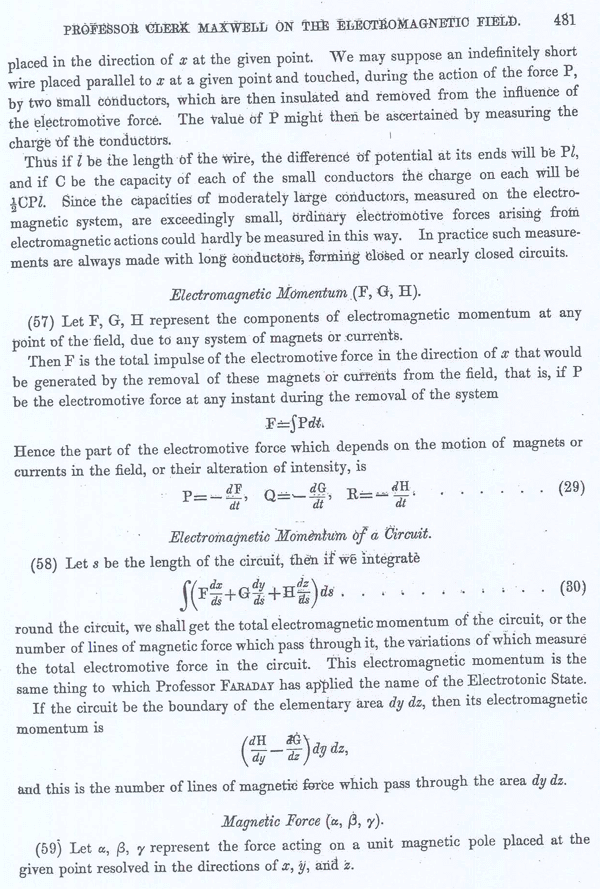 Clerk Maxwell on the Electromagnetic Field Page 23