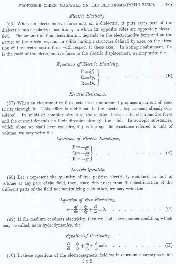 Clerk Maxwell on the Electromagnetic Field Page 27