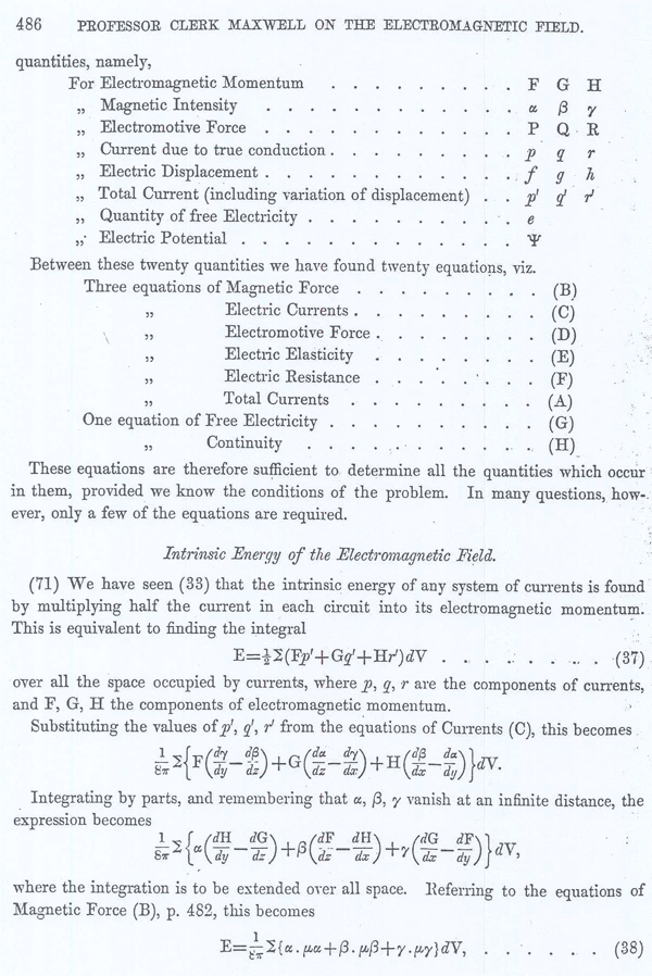Clerk Maxwell on the Electromagnetic Field Page 28